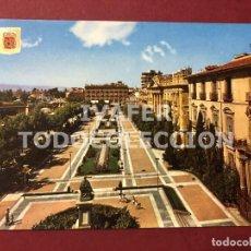 Postales: POSTAL MURCIA, GLORIETA DE ESPAÑA, AÑOS 70. Lote 254106735