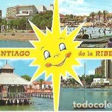 Postales: POSTAL A COLOR 45 SANTIAGO DE LA RIBERA BELLEZAS DE LA CIUDAD GARCIA GARRABELLA. Lote 254131280