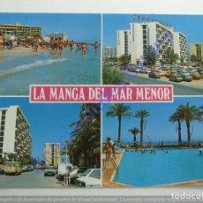 Postales: LA MANGA DEL MAR MENOR. MURCIA. DIVERSAS VISTAS. Lote 254183475
