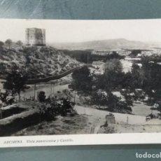 Postales: POSTAL ARCHENA. VISTA PANORAMICA Y CASTILLO.. Lote 254909060