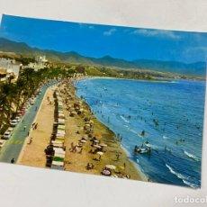 Cartes Postales: TARJETA POSTAL. PUERTO DE MAZARRON. 6.- PLAYA DEL PUERTO. PASEO DE PALMERAS. EDICIONES ARRIBAS. Lote 254956735