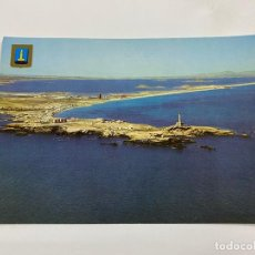 Cartoline: TARJETA POSTAL. CARTAGENA. CABO DE PALOS. Nº 7.- VISTA AÉREA DEL MAR MENOR Y MANGA. Lote 254957995