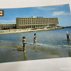 Cartoline: TARJETA POSTAL. CARTAGENA. MANGA DEL MAR MENOR. Nº 13.- PLAYA HOTEL GALUA HACIENDA 2 MARES. Lote 254962650