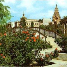 Postales: Nº 153-MURCIA. ROSALEDA. CATEDRAL AL FONDO. CIRCULADA EN 1963. ED. SUBIRATS CASANOVAS. Lote 257298360