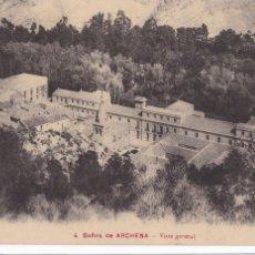 Cartes Postales: MURCIA, BAÑOS DE ARCHENA, VISTA GENERAL. ED. J. GARCIA Nº 4. SIN CIRCULAR. Lote 257307790