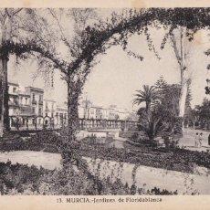 Cartes Postales: MURCIA, JARDINES DE FLORIDABLANCA. ED. FOTO ROISIN Nº 13. SIN CIRCULAR. Lote 257309220