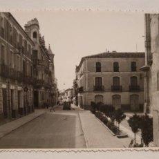 Postales: YECLA - PLAZA DE LA PURÍSIMA Y CALLE DE JUAN ORTUÑO - FOTO TANI - P50373. Lote 257351095