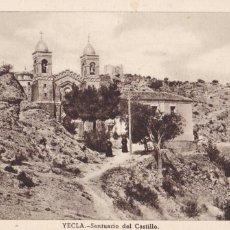 Cartes Postales: MURCIA, YECLA, SANTUARIO DEL CASTILLO. ED. HUECOGRABADO FOURNIER, VITORIA. SIN CIRCULAR. Lote 257677160