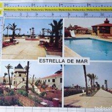 Cartoline: POSTAL DE MURCIA. AÑO 1988. URBANIZACIÓN ESTRELLA DE MAR, LOS URRUTIAS CARTAGENA. 2525. Lote 259724985