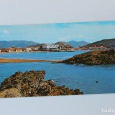 Postales: POSTAL DOBLE ORDENACION BAHIA, MAZARRON. MURCIA, AÑOS 70. Lote 260681455