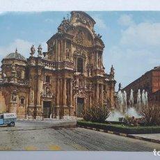 Cartes Postales: MURCIA, PLAZA CARDENAL BELLUGA Y CATEDRAL, GARCÍA GARRABELLA Nº 45. Lote 261661580