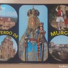 Postales: SANTUARIO DE NTRA.SRA.DE LA FUENSANTA Y HUERTANOS .CATEDRAL. PUENTE VIEJO MURCIA. Lote 262274435