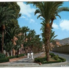 Cartes Postales: POSTAL CARTAGENA, CALLE REAL. ED. GIJU, CARTAGENA, Nº 20 (1965). MARINEROS. SEAT 600. PALMERAS.. Lote 262493215