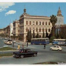 Postales: EM0861 MURCIA AVENIDA TENIENTE FLORESTA 1969 ESCUDO DE ORO Nº124 SEAT 1500 600 BUSES GUARDIA. Lote 262666120
