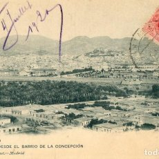 Postales: POSTAL ANTIGUA- CARTAGENA- VISTA DESDE EL BARRIO DE LA CONCEPCION - CIRCULA Y SIN DIVIDIR. Lote 262883865