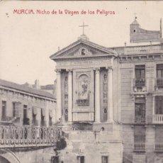 Postais: MURCIA NICHO DE LA VIRGEN DE LOS PELIGROS. ED. FOTOTIPIA THOMAS. SIN CIRCULAR. Lote 264263308