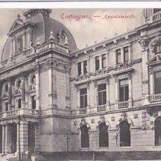 Postales: MURCIA CARTAGENA AYUNTAMIENTO. ED. VIUDA DE LASSÉRE. SIN CIRCULAR. Lote 267405444