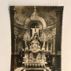 Postales: CARTAGENA MURCIA. POSTAL NO.39, NTRA. SRA. DE LA CARIDAD. ALTAR MAYOR. GARCIA GARRABELLA (H.1950?). Lote 268992954