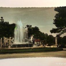 Postales: CARTAGENA. POSTAL COLOREADA NO.27, PLAZA DE ESPAÑA Y FUENTE MONUMENTAL. EDIC., GARCIA GARRABELLA. Lote 269083653