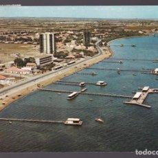 Postales: SANTIAGO DE LA RIBERA. *PASEO DE COLÓN...* CIRCULADA 1968, RODILLO ACADEMIA GRAL. AIRE.. Lote 6314102
