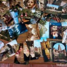 Postales: MURCIA Y PROVINCIA LOTE DE 68 POSTALES AÑOS 60/70. Lote 271042003
