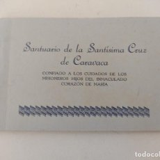 Postales: CARAVACA: BLOC CON 10 POSTALES ANTIGUAS DEL SANTUARIO DE LA SANTÍSIMA CRUZ. Lote 287685863