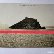 Postales: ANTIGUA POSTAL DE CARTAGENA. MURCIA. ISLOTE DE ESCOMBRERAS. LA INDUSTRIAL FOTOGRÁFICA. VALENCIA.. Lote 273645548