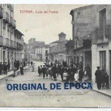Postales: (PS-66047)POSTAL DE TOTANA-CALLE DEL PUENTE.FOTOTIPIA THOMAS. Lote 275289338