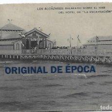 Postales: (PS-66076)POSTAL DE LOS ALCAZARES-BALNEARIO SOBRE EL MAR DEL HOTEL DE LA ENCARNACION. Lote 276182228