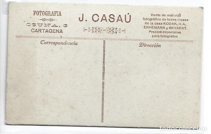 Postales: (PS-66042)POSTAL FOTOGRAFICA DE CARTAGENA-CARNAVAL.FOTO J.CASAU - Foto 2 - 276790218