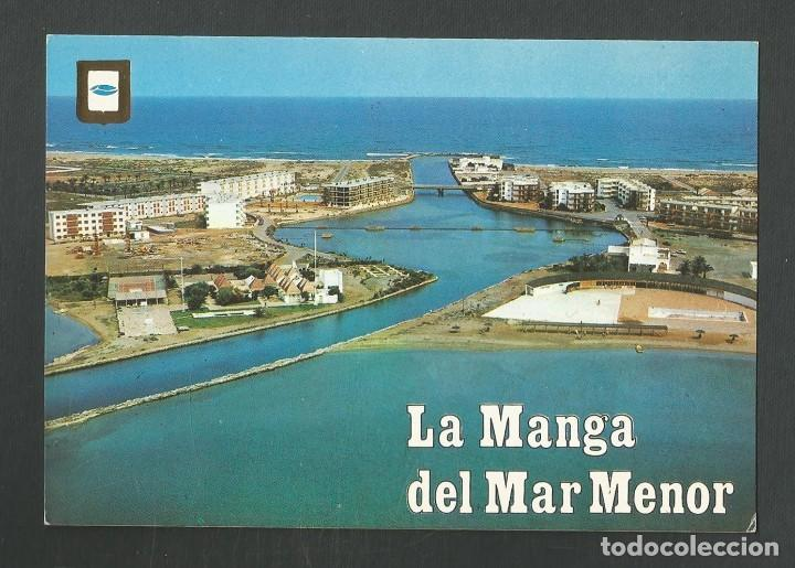POSTAL SIN CIRCULAR LA MANGA DEL MAR MENOR 54 CARTAGENA (MURCIA) URBANIZACION GOLA EDITA ESCUDO ORO (Postales - España - Murcia Moderna (desde 1.940))