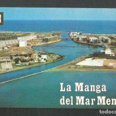 Postales: POSTAL SIN CIRCULAR LA MANGA DEL MAR MENOR 54 CARTAGENA (MURCIA) URBANIZACION GOLA EDITA ESCUDO ORO. Lote 277664508