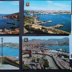 Postales: CARTAGENA, 5 ANTIGUAS POSTALES SIN CIRCULAR, VER FOTOS. Lote 278762348