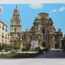 Postales: POSTAL MURCIA PLAZA DEL CARDENAL BELLUGA. Lote 278868883