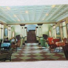 Postales: POSTAL ARCHENA BALNEARIO, HALL DEL HOTEL TERMAS. Lote 278869513
