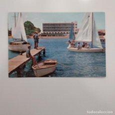 Postales: POSTAL SANTIAGO DE LA RIBERA. HOTEL LOS ARCOS (MURCIA) CIRCULADA 1966. Nº 960 ESCUDERO. ANIMADA. Lote 278966498