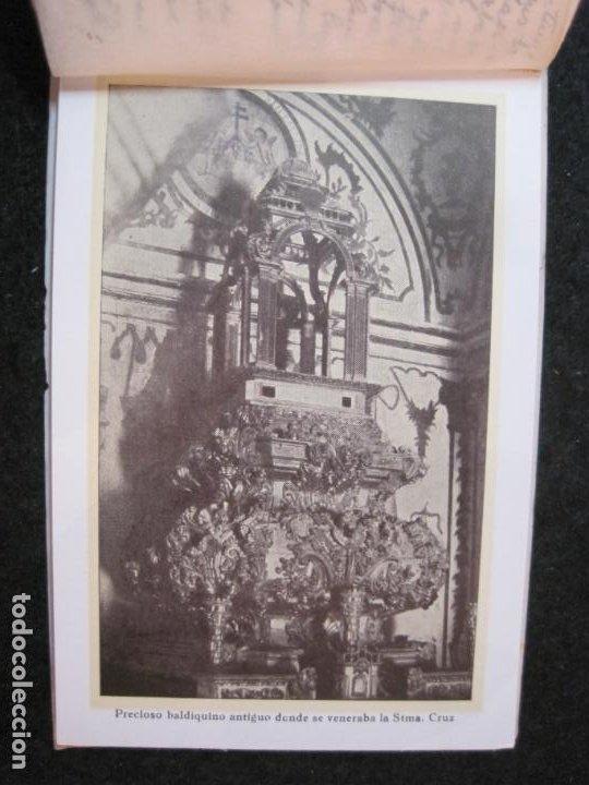 Postales: SANTUARIO DE LA SANTISIMA CRUZ DE CARAVACA-BLOC DE POSTALES ANTIGUAS-VER FOTOS-(83.653) - Foto 8 - 286531658
