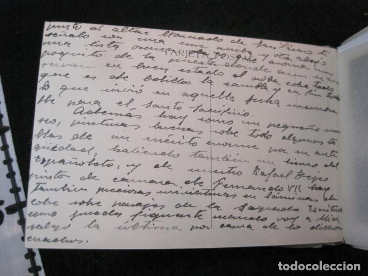 Postales: SANTUARIO DE LA SANTISIMA CRUZ DE CARAVACA-BLOC DE POSTALES ANTIGUAS-VER FOTOS-(83.653) - Foto 12 - 286531658
