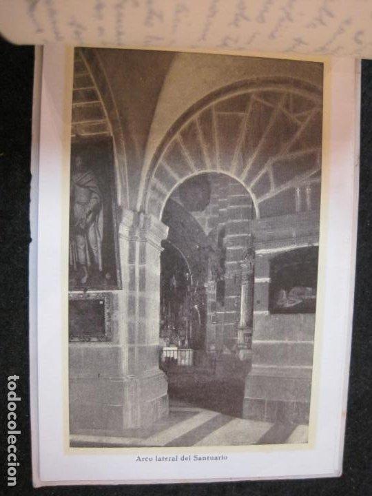 Postales: SANTUARIO DE LA SANTISIMA CRUZ DE CARAVACA-BLOC DE POSTALES ANTIGUAS-VER FOTOS-(83.653) - Foto 13 - 286531658