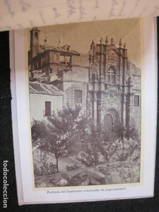 Postales: SANTUARIO DE LA SANTISIMA CRUZ DE CARAVACA-BLOC DE POSTALES ANTIGUAS-VER FOTOS-(83.653) - Foto 14 - 286531658