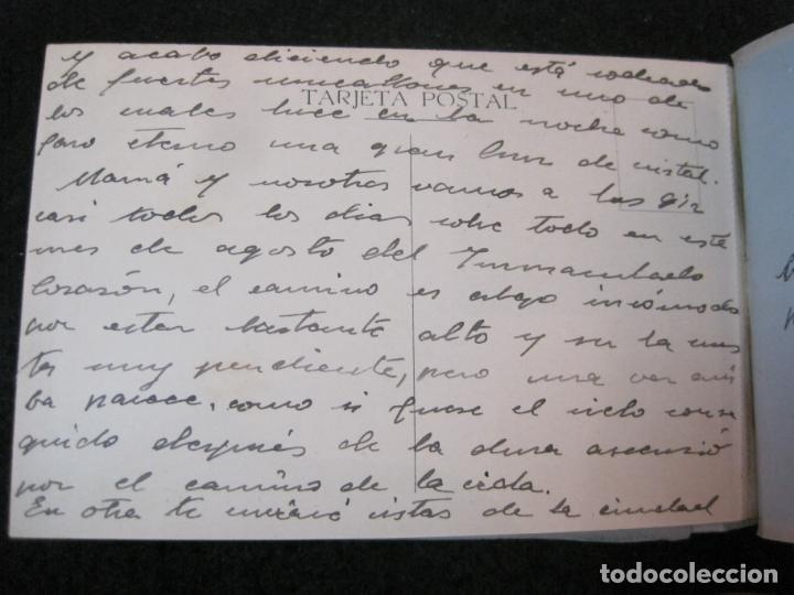 Postales: SANTUARIO DE LA SANTISIMA CRUZ DE CARAVACA-BLOC DE POSTALES ANTIGUAS-VER FOTOS-(83.653) - Foto 15 - 286531658