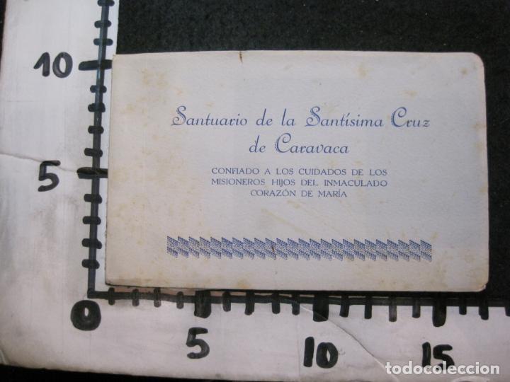 Postales: SANTUARIO DE LA SANTISIMA CRUZ DE CARAVACA-BLOC DE POSTALES ANTIGUAS-VER FOTOS-(83.653) - Foto 18 - 286531658