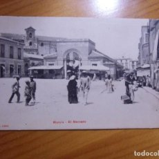 Postales: MURCIA.POSTAL CIRCULADA 1919. EDIC.P.Z. 10641. EL MERCADO.. Lote 289348148