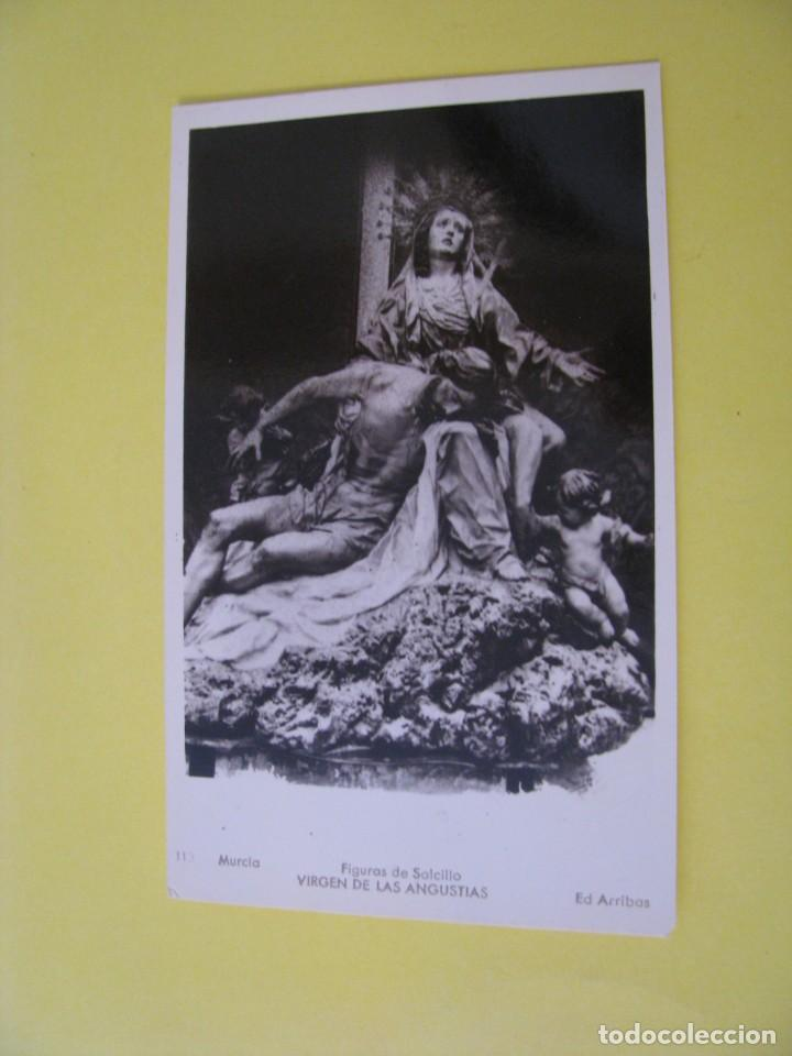 MURCIA. FIGURAS DE SALCILLO. ED. ARRIBAS. Nº 113. VIRGEN DE LAS ANGUSTIAS. (Postales - España - Murcia Moderna (desde 1.940))