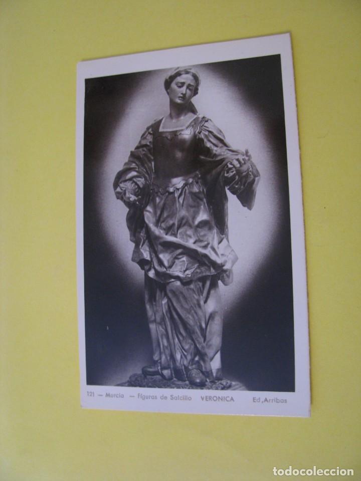 MURCIA. FIGURAS DE SALCILLO. ED. ARRIBAS. Nº 121. VERONICA. (Postales - España - Murcia Moderna (desde 1.940))