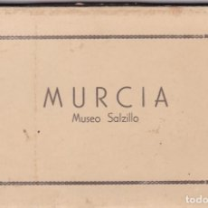 Postales: MURCIA, MUSEO SALZILLO. BLOC POSTAL COMPLETO CON 10 POSTALES FOTOGRAFICAS. ED. GARRABELLA. Lote 289743623