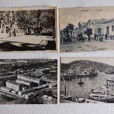 Postales: R-177.- LOTE DE -- 4 -- POSTALES .- 2 SON DE LORCA Y 2 DE CARTAGENA , VER FOTOS DE LAS 4 , INDIVI. Lote 293938728