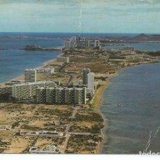Postales: POSTAL CARTAGENA (MURCIA) - LA MANGA DEL MAR MENOR - SUBIRATS 1977 - CIRCULADA. Lote 295281033