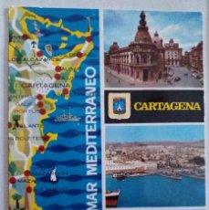 Postales: 5 POSTALES: 1 DE CARTAGENA, 1 DE LORCA, 1 DE S. PEDRO DE PINATAR Y 1 DEL CABO DE PALOS, MURCIA. Lote 295874683