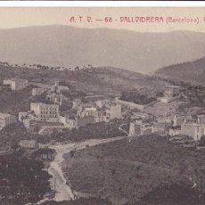 Postales: BARCELONA, VALLVIDRERA VISTA GENERAL. ED. A.T.V. ANGEL TOLDRA VIAZO Nº 68. SIN CIRCULAR. Lote 296684848